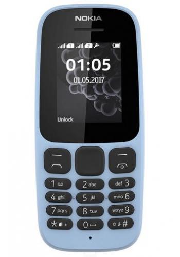 Nokia 105 (2017) Dual SIM Blauw