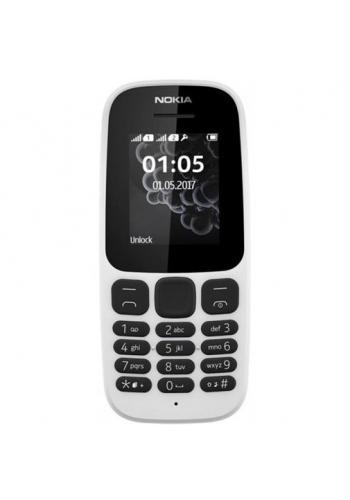 Nokia 105 (2017) Dual Sim White